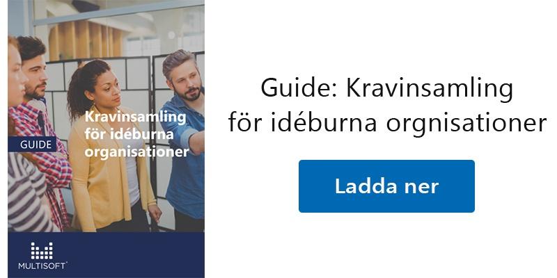 Guide: Kravinsamling för idéburna organisationer