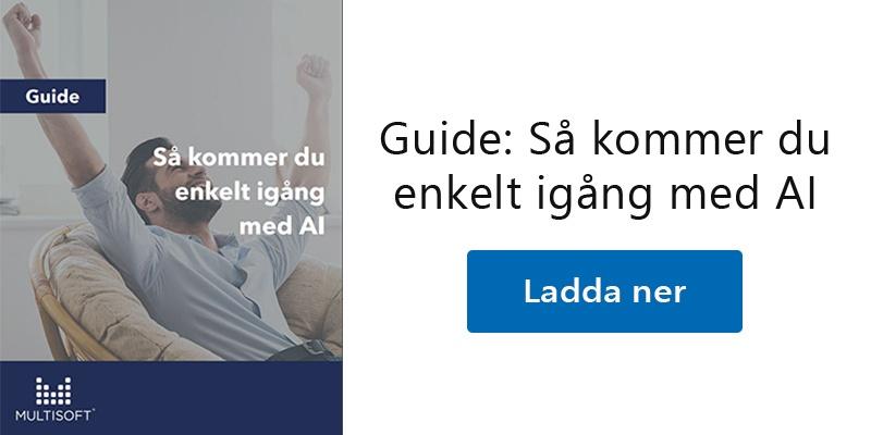 Guide: Så kommer du enkelt igång med AI