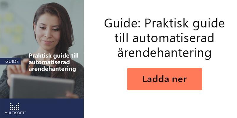 Guide: Automatiserad ärendehantering