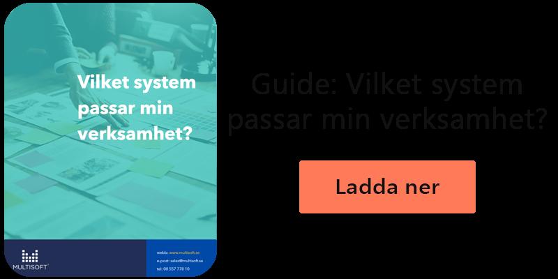 Guide: Vilket system passar min verksamhet?