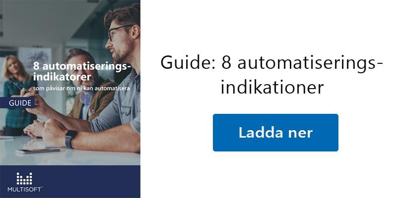 Guide: 8 automatiseringsindikationer
